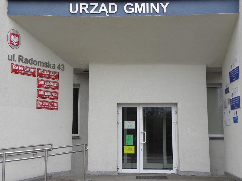Otoczenie Urzędu<br>Jedlnia-Letnisko